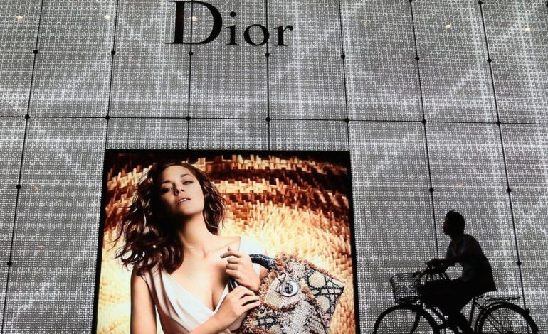 Dior apologizes for using China map without Taiwan