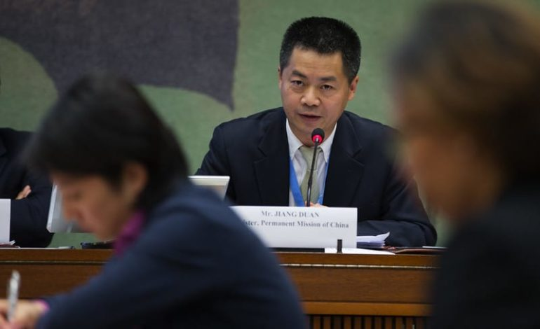 China joins U.N. human rights panel, will help pick experts on free speech, health, arbitrary detention