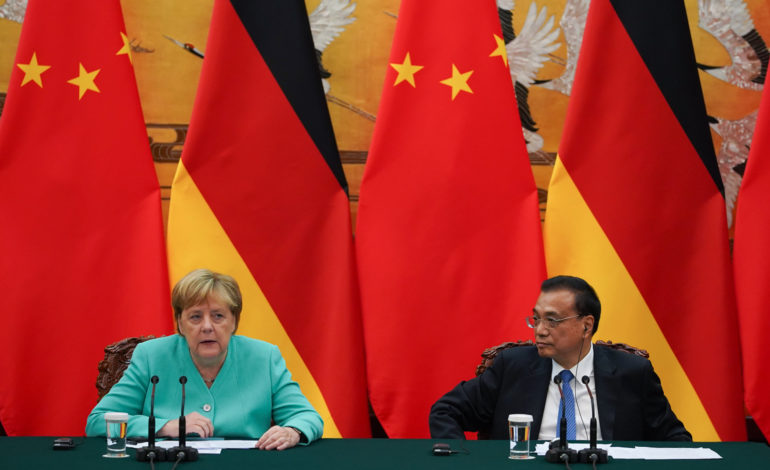Merkel's China Reset Is Mostly Hollow