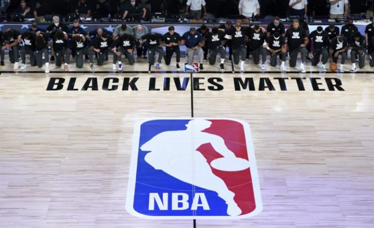 The NBA is a political organization when it comes to BLM, but for Hong Kong, not so much
