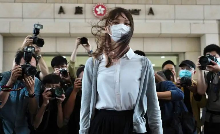 Agnes Chow, the goddess of democracy, faces prison in Hong Kong