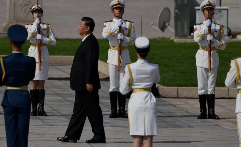 China: Xi Jinping tells troops to focus on 'preparing for war'