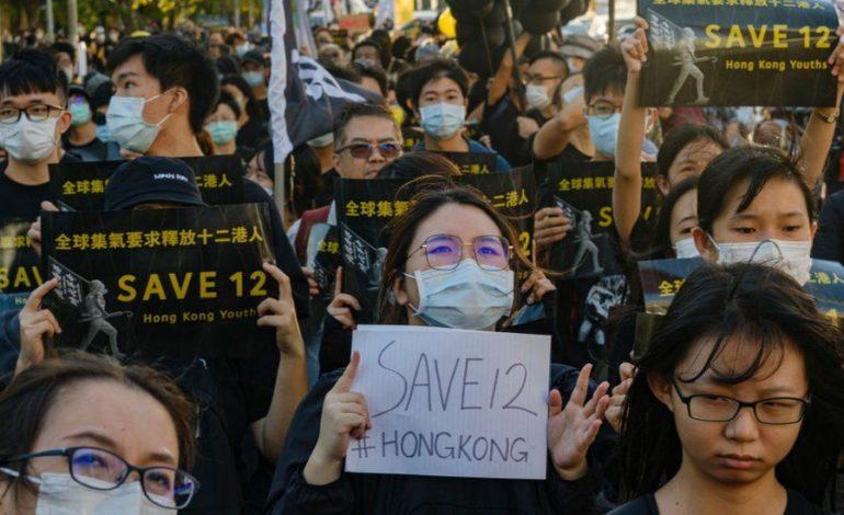 Hong Kong boat activists: China jails group for up to three years