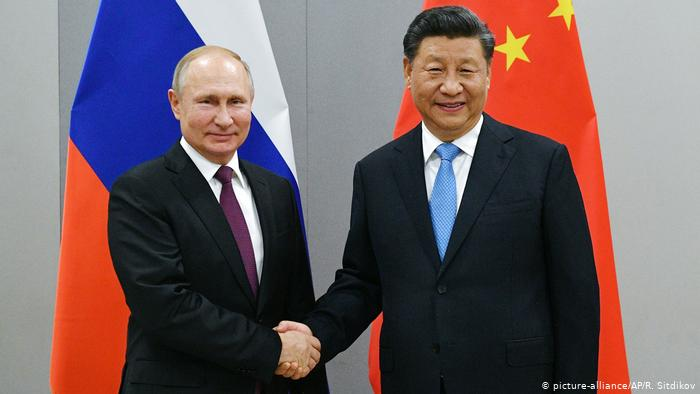 China and Russia plan to 'deepen' cooperation against US
