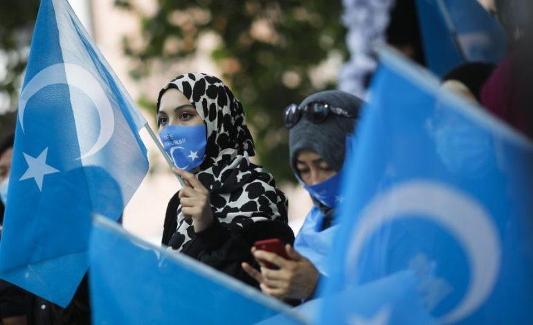 Twitter locks account of China's U.S. Embassy over tweet defending treatment of Uyghur women