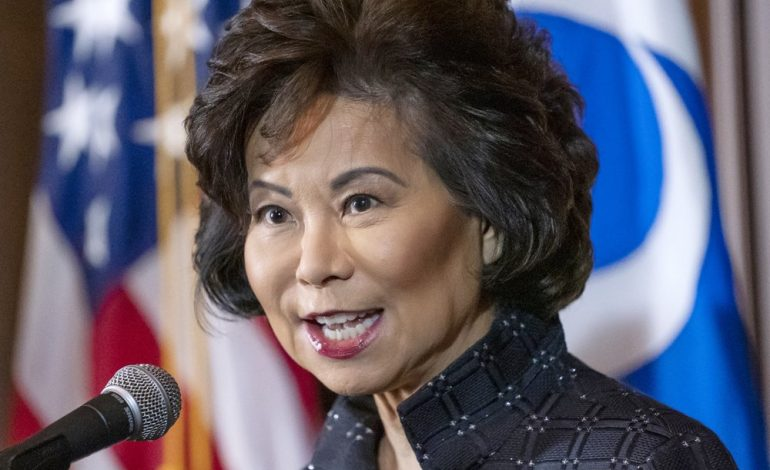 IG faults Elaine Chao at Transportation over ethics concerns