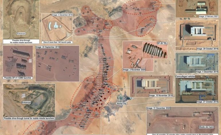 China's Expanding Missile Training Area: More Silos, Tunnels, and Support Facilities