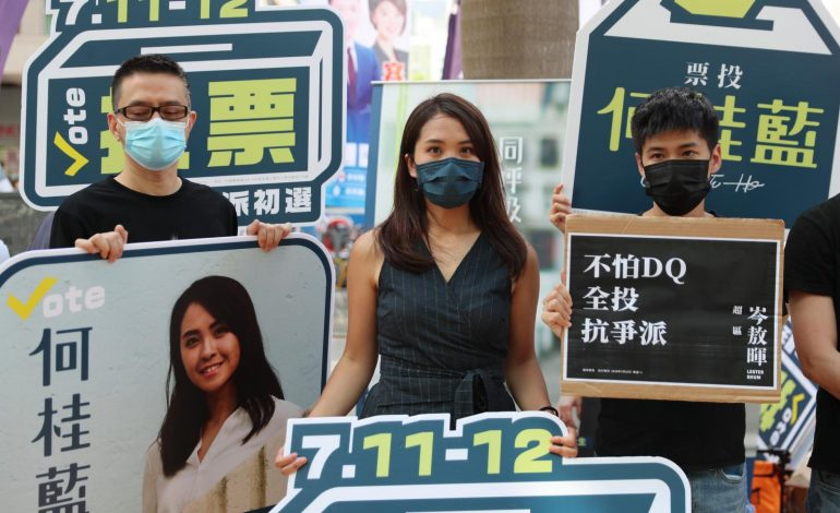 The journalist who livestreamed the Hong Kong protests' darkest moment is now a dissident behind bars