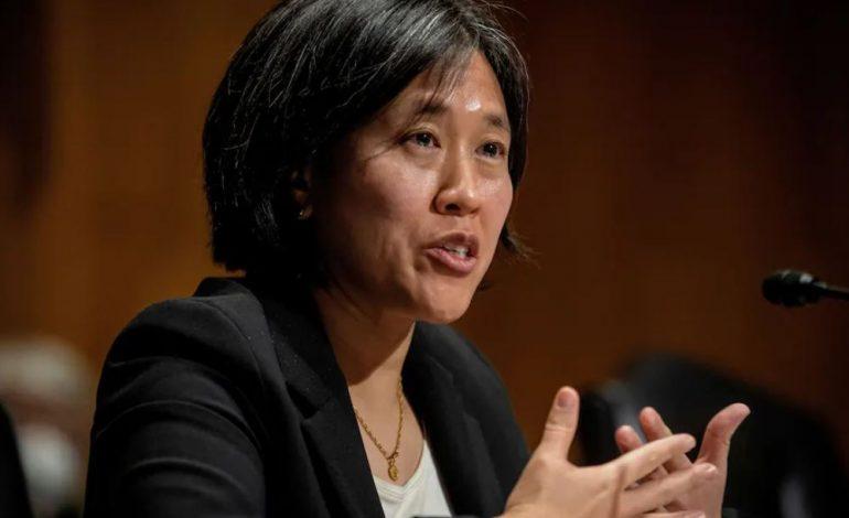 Tai confirmed as top U.S. trade negotiator