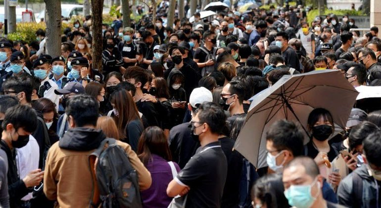 Hong Kong charges 47 activists in largest use yet of new security law