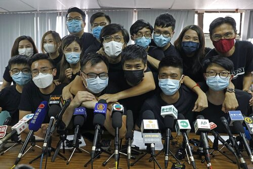 Every prominent HK pro-democracy activist is now in jail, exile, or on trial awaiting sentencing