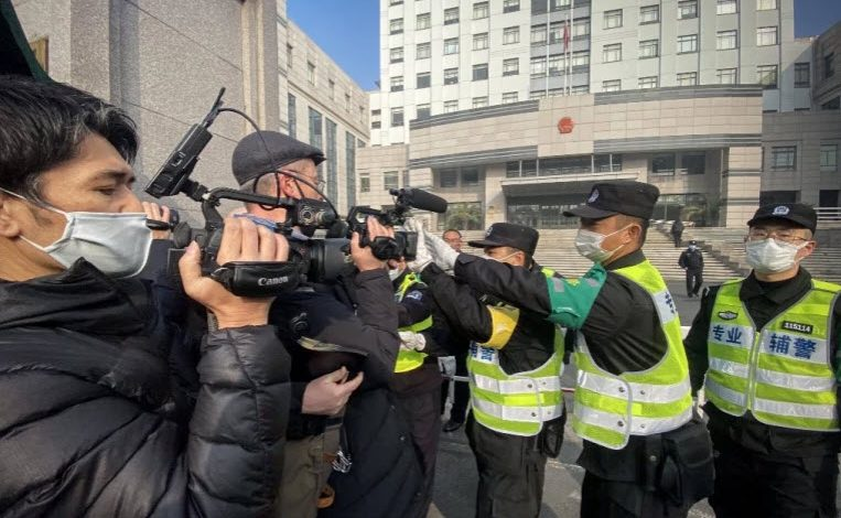 China is world's 'biggest jailer of journalists', says RSF