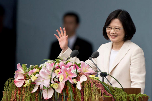Halifax Security Forum awards Taiwan's president