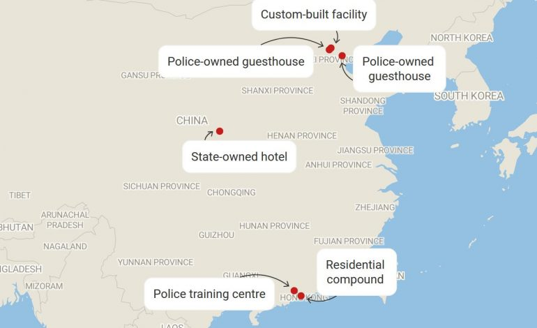 China's secretive 'residential surveillance' jail system is booming under Xi Jinping, human rights group says