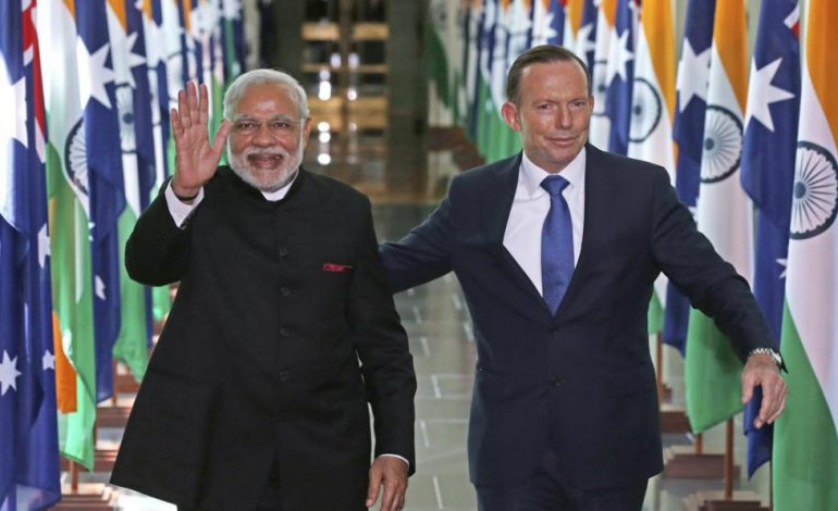 Australia flags democracies' trade swing from China to India