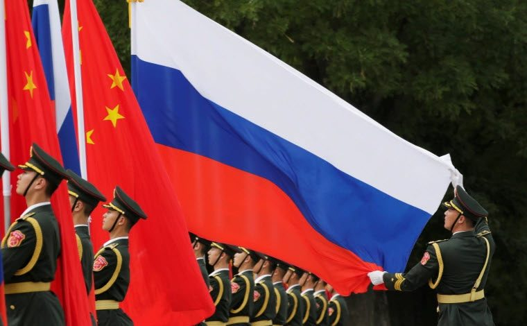 China and Russia hold large-scale joint military drills