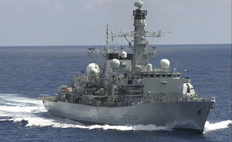 U.K. Warship Transits Taiwan Strait for First Time Since 2019