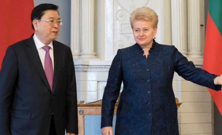 Beijing's Spat With Lithuania Sets The Stage For Shaky New Era of Europe-China Ties