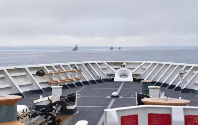 4 Chinese warships off Alaskan coast; US military releases photos